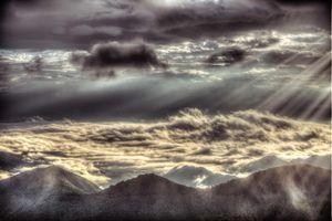 Gloomy sky(憂鬱な空)