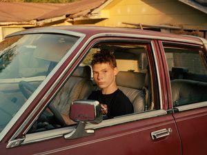 Matthew in his own car