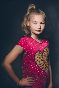 Jamie-Leigh aged 11.