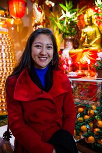 Mi Kwan / Actress / Buddhist Temple 37, rue du disque
