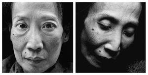 Maria Hai-Anh Tuyet Cao. Age: 52. Born: 26th August 1951. First portrait taken: 5th December 2003. Died: 15th February 2004. Photo © Walter Schels. Text © Beate Lakotta. All rights reserved.