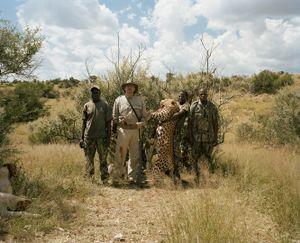 leopard hunter # II, namibia