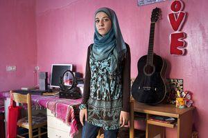"""Aseel (Umm Al Fahm, Muslim) From the series """"Eighteen"""" © Natan Dvir"""