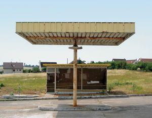 """Station #14, from """"Twentysix Abandoned Gasoline Stations"""" © Eric Tabuchi"""