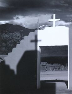 Taos From The Church © Eric Blau