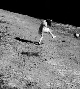 Football on the moon