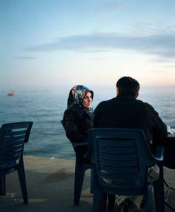 Couple on the see side, Marmara see