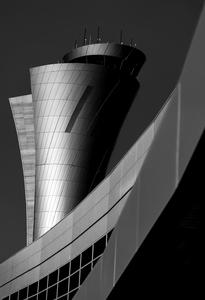 New traffic control tower, San Francisco International Airport