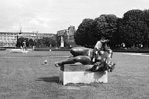 Jardin des Tuileries, Paris, France, 1982