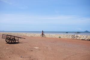 Kid on the bike