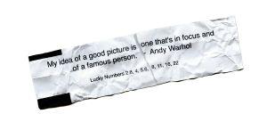 Andy Warhol, Foto Fortune. © Jason Landry