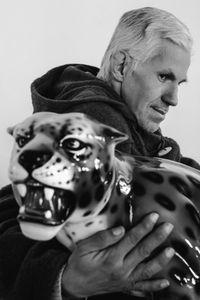Gianni and his jaguar