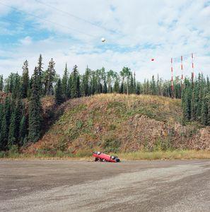 Flipped Car, Klondike Highway.