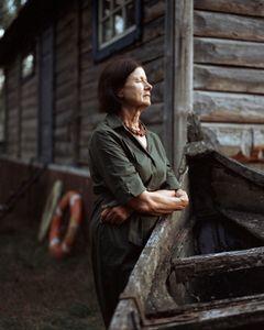 Vitalija. Wife of the departed artist