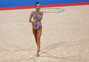 World and European champion in rhythmic gymnastics,  Arina Averina