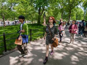 Strolling Along Literary Walk