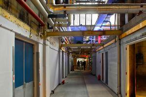 Interior of the former AKZO facility in Arnhem NL