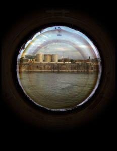 "Vantage Point Portholes 20x24"""