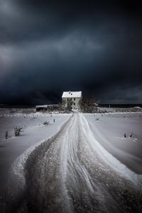Pathway to the lonely house