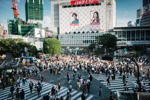 Shibuya Crossing, Tokyo. 2017.