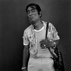 A man wearing four watches, 1987 © Hiroh Kikai from Asakusa Portraits, courtesy of Steidl