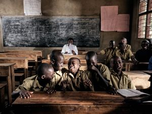 Classroom in Rwanda