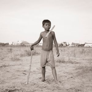 Portrait de Garçon - Boeung Kak Lake (Phnom Penh)