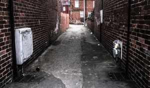 Alleys and backings.