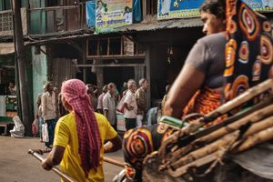 Kolkata, India. Informal Workers.