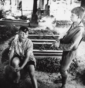 In the Village Cemetery, Kazliskes, 1966.jpg© Antanas Sutkus, Russian Tea Room Gallery