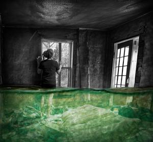 Room Underwater /2009 (30 years old) Dallas Texas.