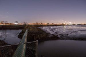 Pipeline near Meadowlands Environment Center