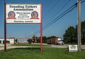Founding Fathers Ammunition, Siloam Springs, Arkansas, 2019