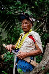 Nyishi tribe of Arunachal Pradesh in North East of India.