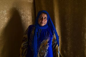 Khairiya, 39 years old, comes from Duma.