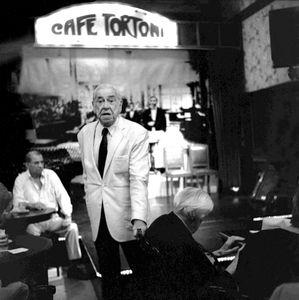 Conteur du Café Tortoni (Buenos Aires; Argentine)