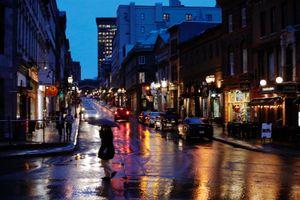 Quebec Night Rain #1