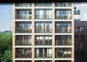 Barratts, West Hendon, London NW9.