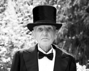 """""""Top Hat"""" (From the series entitled, """"The Last Picture Show"""" documenting the last year of my father's life as he suffered from progressive dementia.)"""