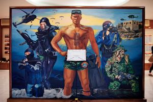 Every nation's army has its own source of pride on which the military builds its public image. In Taiwan, it's the frogmen. © Touko Hujanen