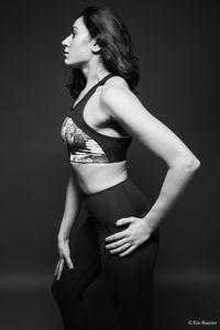 Sporting Elegance (Model: Chaima Lehioui).