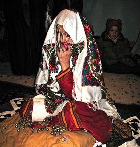 Turkmen bride, Damla Turkmenistan