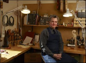 Charles Rufino - Violin maker, Long Island
