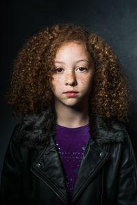 Claudia aged 10.