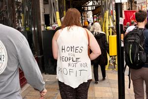 March Against Austerity, 20 June, London, 2015.