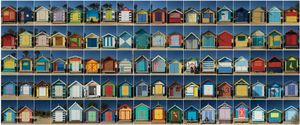 Brighton Beach Huts, Brighton, Victoria, Australia