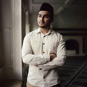 Maaz Ahmad, Young training Imam, England, UK.