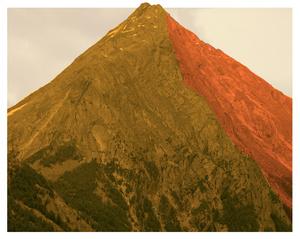 "Almagellhorn from the series ""Hikari,"" 2013 © David Favrod"