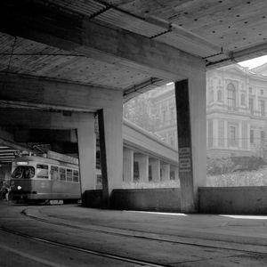 Tram terminus, Vienna