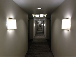 Hotel Hallway, Richmond, Virginia